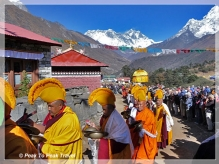 Mani Rimdu Festival & Everest Base Camp, mani rimdu festival, everest base camp trek, trek to Everest Base camp, festival Mani Rimdu, Tyangboche monastery, buddhist festival, trekking, Everest Base Camp